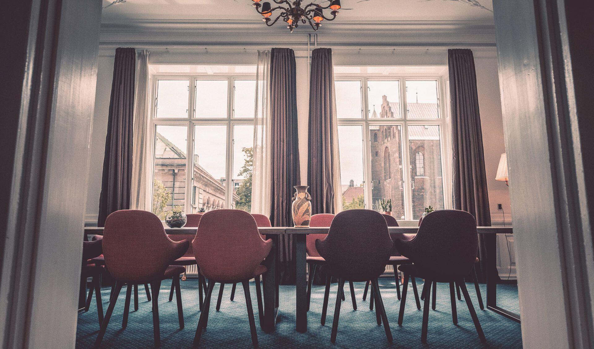 Rosen suiten – Hotel ROYALs selskabs lokale